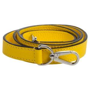 Louis Vuitton Yellow Leather Bag Shoulder Strap