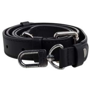 Louis Vuitton Black Leather Adjustable Shoulder Strap