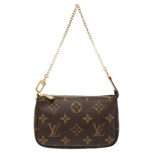 Louis Vuitton Monogram Coated Canvas Mini Pochette