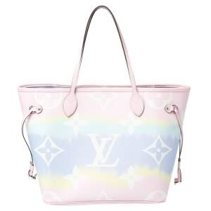 Louis Vuitton Pastel Tie Dye Monogram Canvas Neverfull Escale MM Bag