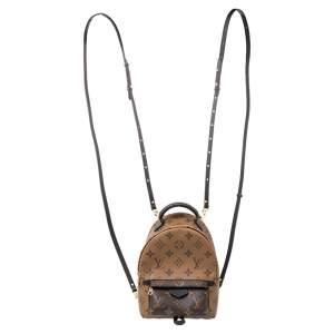 Louis Vuitton Monogram Reverse Canvas Mini Palm Spring Backpack