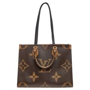 Louis Vuitton Reverse Monogram Canvas Giant Onthego MM Bag