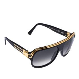 Louis Vuitton Gold Plated/ Grey Gradient Z0098W Millionaire Sunglasses