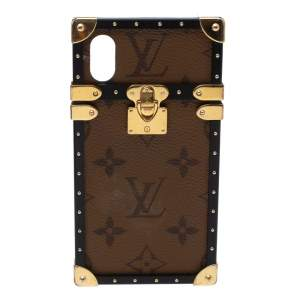 Louis Vuitton Reverse Monogram Eye-Trunk iPhone X Case