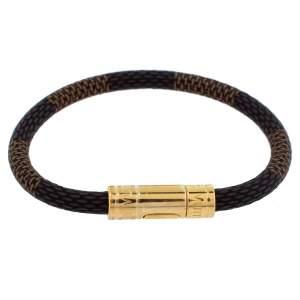 Louis Vuitton Keep It Damier Canvas Bracelet 17cm