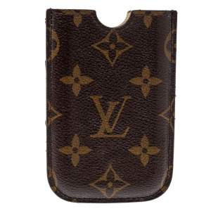 Louis Vuitton Brown Monogram Coated Canvas iPhone Case