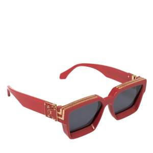 Louis Vuitton Red Z1165W 1.1 Millionaires Square Sunglasses