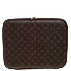 """Louis Vuitton Monogram Canvas 15"""" Laptop Sleeve"""