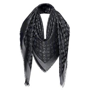 Louis Vuitton Black Monogram Shine Shawl