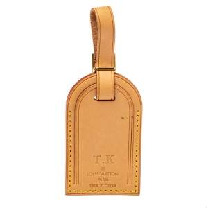 Louis Vuitton Vachetta Leather Luggage Name Tag