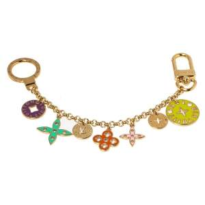 Louis Vuitton Multicolor Fleur de Monogram Bag Charm
