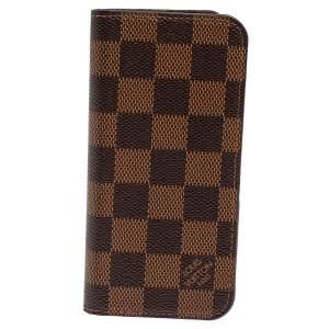 Louis Vuitton Damier Ebene Canvas iPhone 7/8 Plus Folio Case