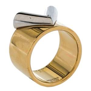 Louis Vuitton Two Tone Essential V Ring L