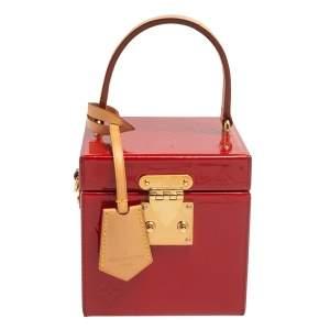 Louis Vuitton Cerise Vernis Bleeker Box Bag