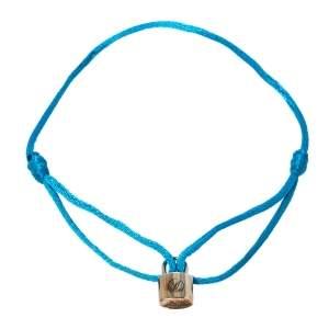سوار لوي فيتون فور يونيسيف لوكيت فضة إسترليني حبل أزرق قابل للضبط