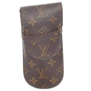 Louis Vuitton Monogram Canvas Etui Lunettes Eyeglass Case
