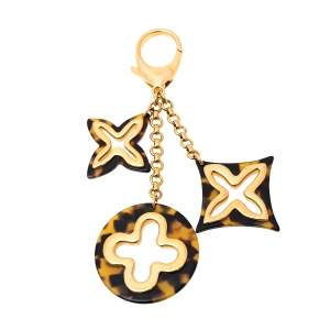 Louis Vuitton Tortoise Shell Resin Insolence Bag Charm