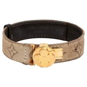 Louis Vuitton Beige Monogram Mini Lin Millennium Wish Bracelet
