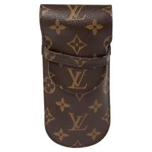Louis Vuitton Monogram Canvas Etui a Lunettes Rabat Eyeglass Case
