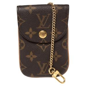 Louis Vuitton Monogram Canvas Etui Phone Case MM
