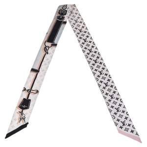 Louis Vuitton Pink Rising Confidential BB Silk Bandeau