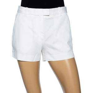 Louis Vuitton White Cotton Shorts S