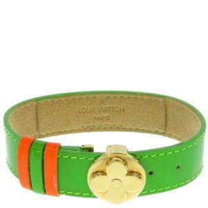 Louis Vuitton Green Monogram Vernis Wish Bracelet