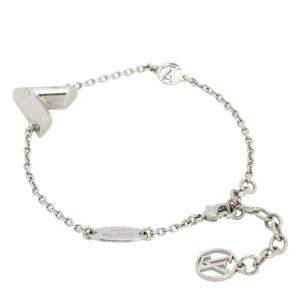 Louis Vuitton Silver Essential V Supple Bracelet