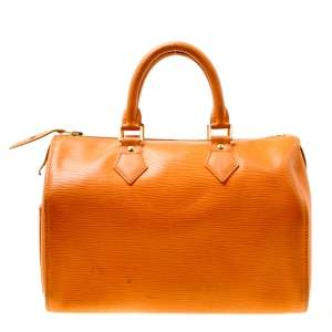Louis Vuitton Mandarin Epi Leather Speedy 25