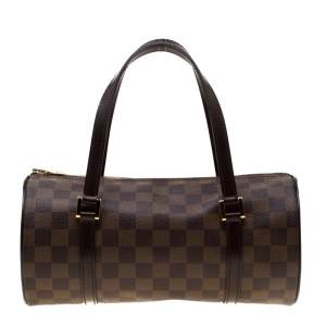 Louis Vuitton Damier Ebene Canvas Papillon 28 Bag