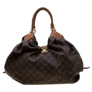 Louis Vuitton Monogram Canvas and Alligator Trim Limited Edition XL Bag