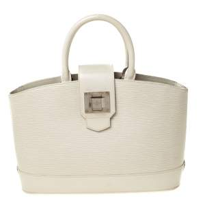 Louis Vuitton Ivorie Electric Epi Leather Mirabeau PM Bag