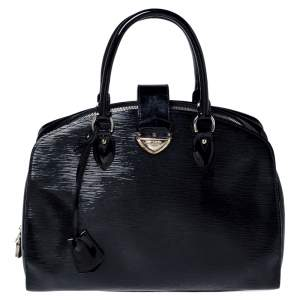 Louis Vuitton Black Electric Epi Leather Pont Neuf GM Bag