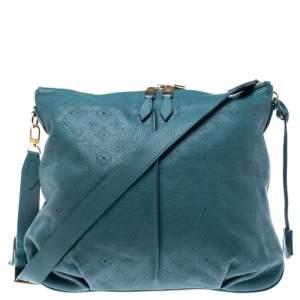 Louis Vuitton Lagon Monogram Mahina Leather Selene MM Bag