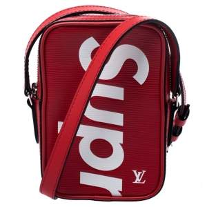 Louis Vuitton Red Epi Leather Danube PPM Bag