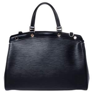 Louis Vuitton Black Epi Leather Brea MM Bag