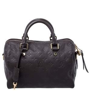 Louis Vuitton Ombre Monogram Empreinte Leather Speedy Bandouliere 25 Bag