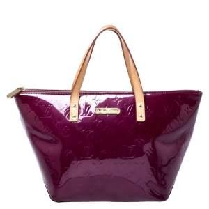 Louis Vuitton Rouge Fauviste Monogram Vernis Bellevue PM Bag
