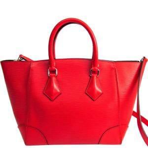 Louis Vuitton Coquelicots Epi Leather Phenix PM Bag