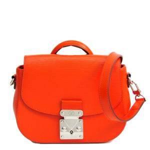 Louis Vuitton Orange Epi Leather Eden PM Bag