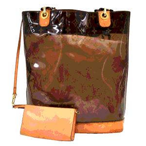حقيبة يد لوي فيتون أمبريه مونوغرامية شفافة ساك كاباس
