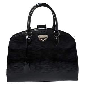 Louis Vuitton Black Electric Epi Leather Pont Neuf GM Bag