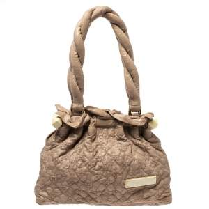 Louis Vuitton Beige Monogram Leather Limited Edition Stratus Olympe PM Bag