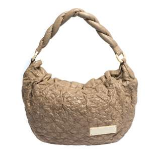Louis Vuitton Ecru Monogram Leather Olympe Nimbus GM Bag
