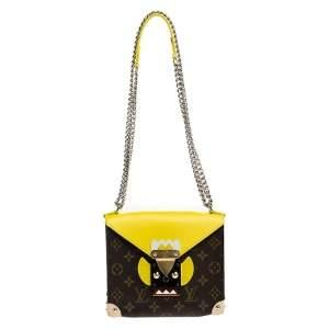 Louis Vuitton Monogram Canvas Tribal Mask PM Bag