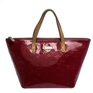 Louis Vuitton Pomme D'amour Monogram Vernis Bellevue PM Bag