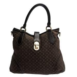 Louis Vuitton Fusain Monogram Idylle Canvas Elegie Bag