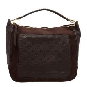 Louis Vuitton Ombre Monogram Empreinte Leather Audacieuse MM Bag