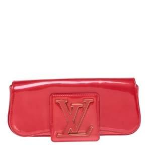 حقيبة كلتش لوي فيتون سوب فيرنيه Grenadine  حمراء