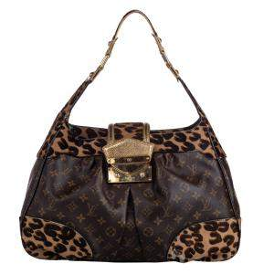 Louis Vuitton Monogram Canvas Leopard Polly Bag